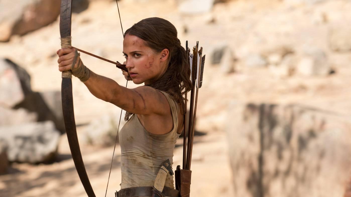 Tomb Raider - Szenen - 05 Lara Croft (Alicia Vikander)