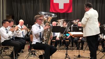 Der junge Wisner Tubist Cédric Wagner überzeugte als brillanter Solist.