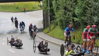 13. Rollstuhlmarathon in Oensingen