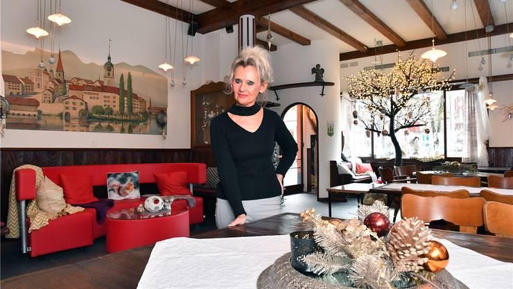 Die neue Pächterin Anita Akermann will «mehr Pfiff» in die «Alte Mühle» bringen und hat einige Änderungen im Interieur vorgenommen.