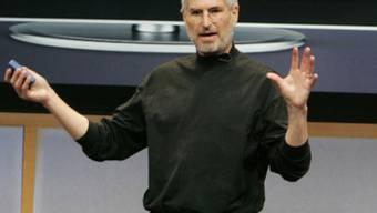 Steve Jobs' Pullover ist begehrt (Archiv)