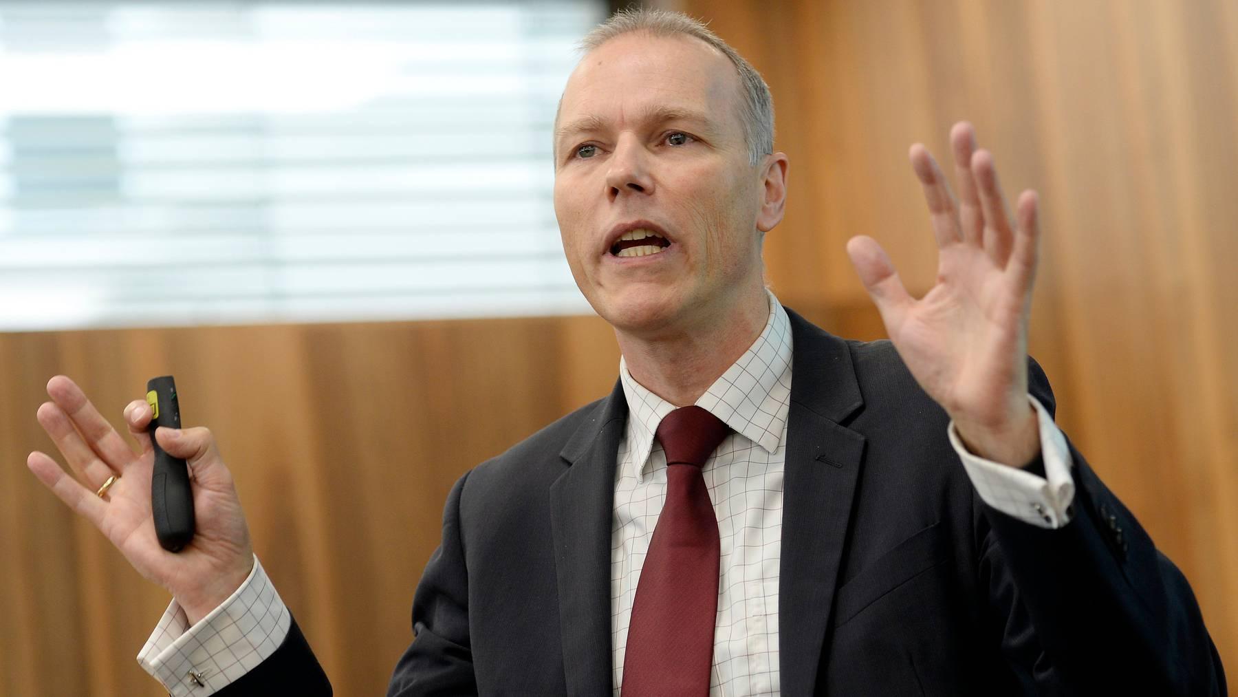 Jan-Egbert Sturm ist Chef der Konjunkturforschungsstelle (KOF) der ETH Zürich und Mitglied der Coronataskforce des Bundes.