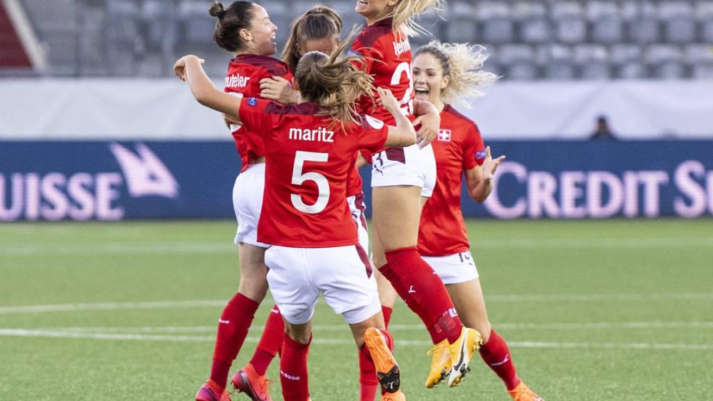 Schweizerinnen gewinnen Spitzenspiel gegen Belgien 2:1