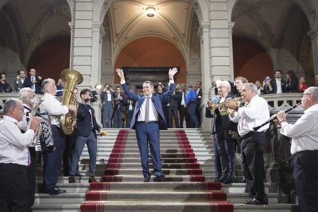 Ignazio Cassis wird Bundesrat. 18 Jahre nach Flavio Cotti sitzt endlich wieder ein Tessiner in der Landesregierung.