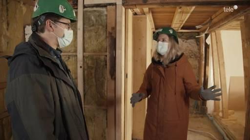 Umbauprofis: Heute geht es Küche, Tapeten und Böden an den Kragen