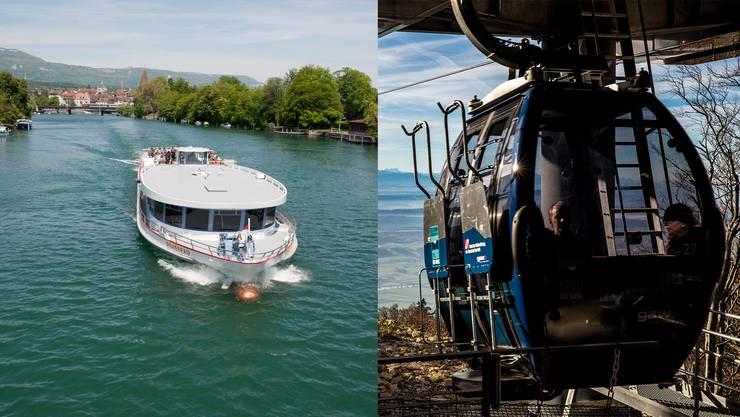 Ab Montag muss die Schutzmaske in Bus, Tram, Zug, auf Schiffen und in der Seilbahn getragen werden.