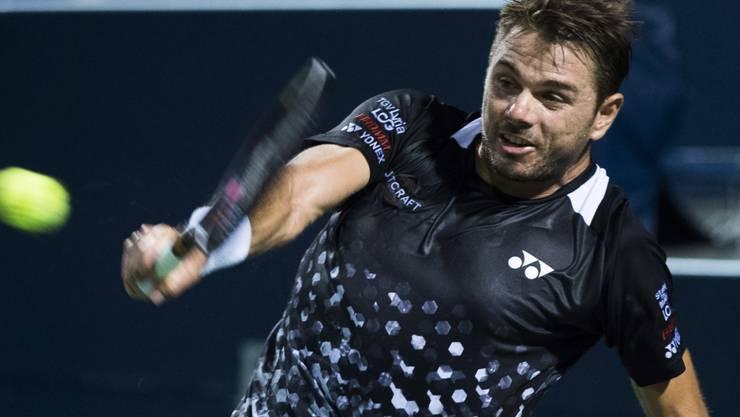 Stan Wawrinka leistet Rafael Nadal harte Gegenwehr