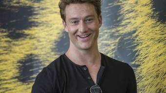 """Schauspieler Alexander Fehling, der am Filmfestival Locarno seinen neuen Film """"Drei Zinnen"""" präsentierte, hat ein Faible für Extreme."""