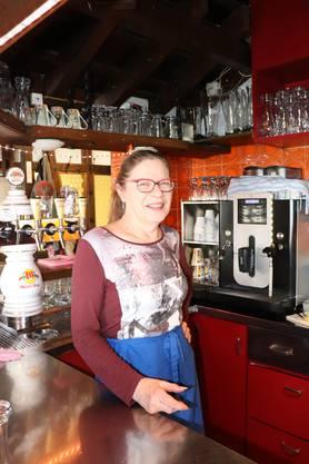 Erika Eggspühler, Wirtin im «Rosengarten»: «Das Restaurant rentiert nicht mehr.»
