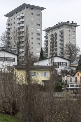 Pionierleistung in Spreitenbach: Das Hochhaus Gyrhalde wurde 1955 begonnen, aber erst 1960 fertiggestellt.