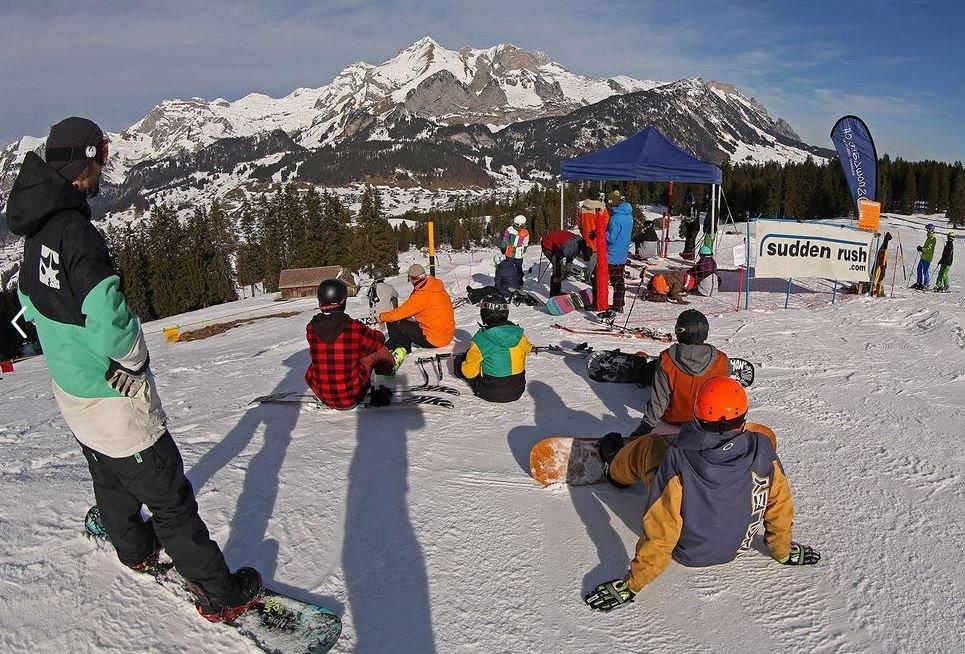 Banked Slalom sei momentan total angesagt. (Bild: wildhaus.ch)