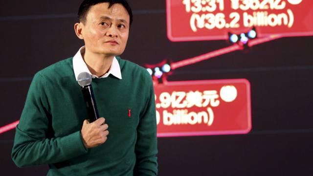 Alibaba-Chef Jack Ma: Neu der reichste Mann in Asien (Archiv)