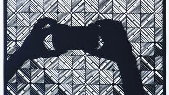 Annette Schröter, «Ornament ist Versprechen», paper cut, 92 x 72 cm, 5400 Franken.