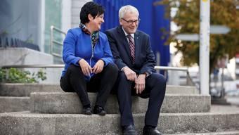 Bei den beiden Freisinnigen Marianne Meister (Messen) und Kurt Fluri (Solothurn) liegen die politischen Unterschiede in den wesentlichen Details.