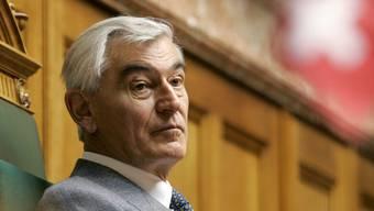 Georg Stucky – hier in einer Archivaufnahme 2006 im Nationalratssaal in Bern – ist Ende August 89-jährig verstorben.
