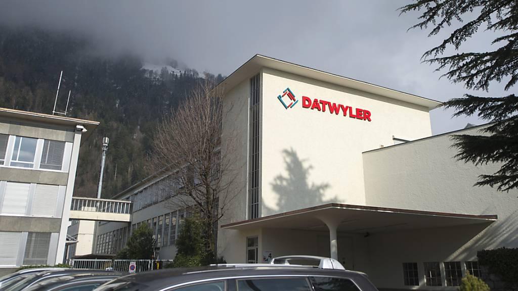 Der Hauptsitz der Dätwyler Holding in Altdorf UR: Das Werk in Schattdorf UR profitiert vom Kaffeekapselboom. (Archivaufnahme)