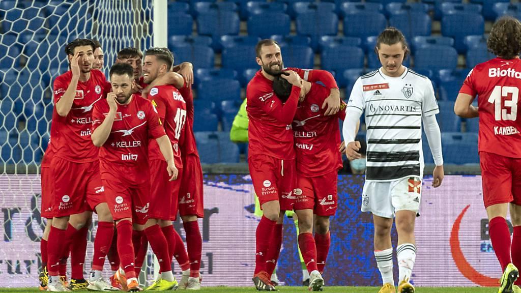 Winterthur lässt Basel im Cup keine Chance