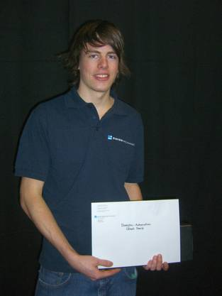 David Döbeli mit Diplom