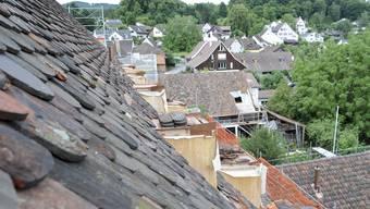 Wichtig: Der Dachlandschaft wird besonders Sorge getragen.
