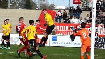 Die Solothurner können trotz wenig überzeugender Leistung drei Punkte mitnehmen.