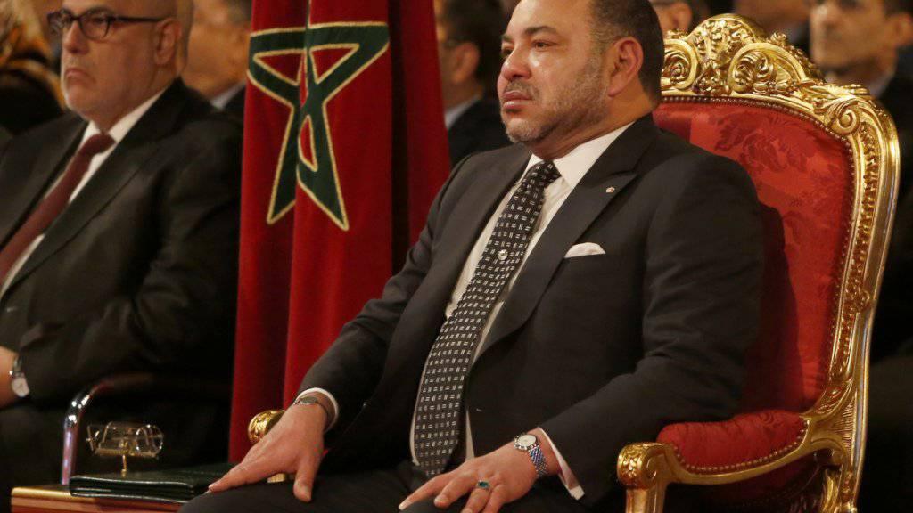 Marokkos König Mohammed VI. will sein Land wieder in die Afrikanische Union zurückführen. (Archivbild)