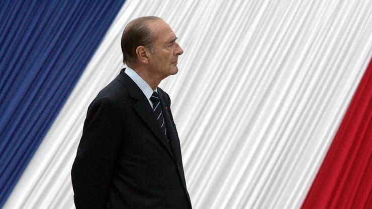 Der frühere französische Präsident Jacques Chirac ist verstorben.