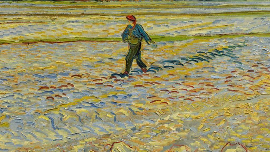 """Van Goghs """"Der Sämann"""" ist eines von über 100 bedeutenden Kunstwerken, welche das Kunstmuseum Bern als Leihgaben von der Winterthurer Hahnloser/Jaeggli Stiftung erhält (z.V.g./Ausschnitt)"""