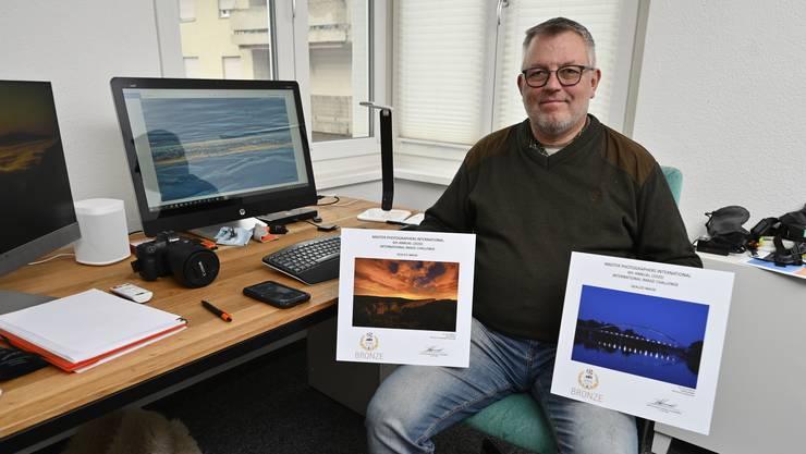 Eric von Schulthess holte insgesamt vier Mal Bronze für seine Fotografien.