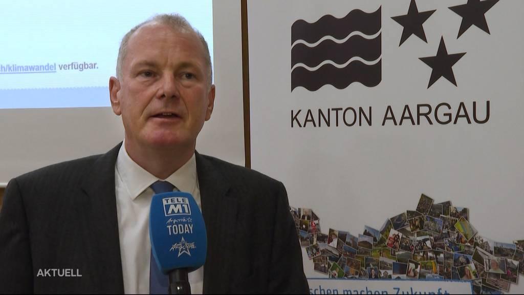 Der Kanton Aargau präsentiert den ersten Teil der Klimastrategie