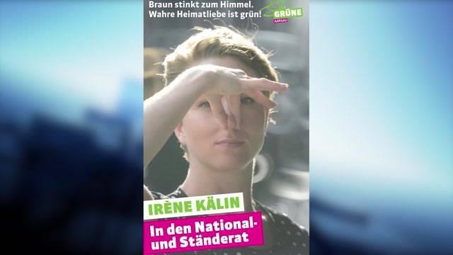 Irène Kälin stellt Ecopop in braune Ecke