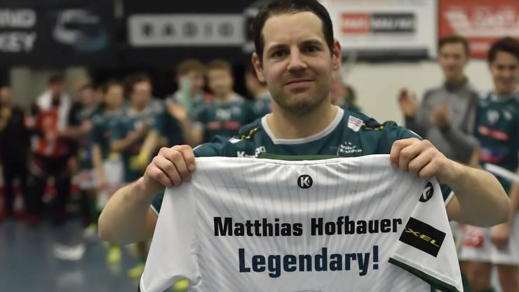 Seit 1994 spielt der bald 37-jährige Matthias Hofbauer beim SV Wiler-Ersigen.