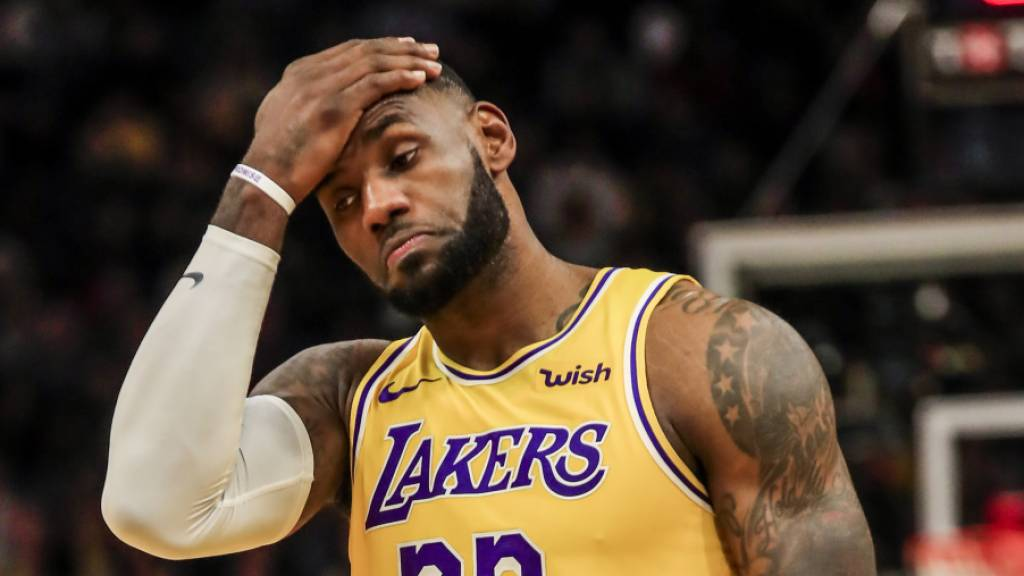 LeBron James nach Bryants Tod in Tränen