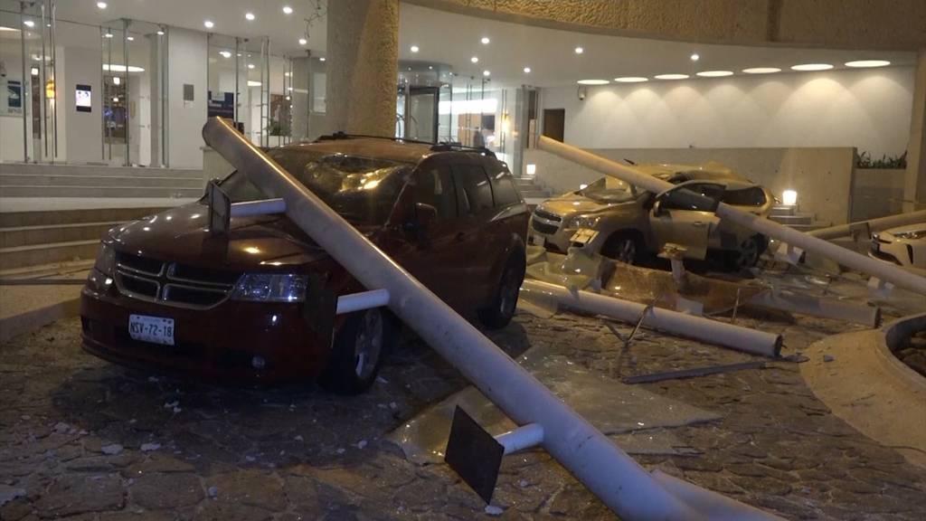 Schweres Erdbeben im Mexiko: Mindestens ein Toter