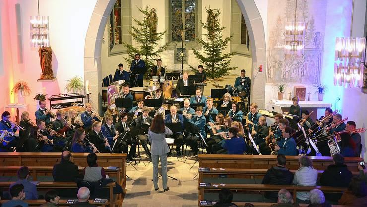 Adventskonzert in den katholischen Kirchen Matzendorf und Welschenrohr.