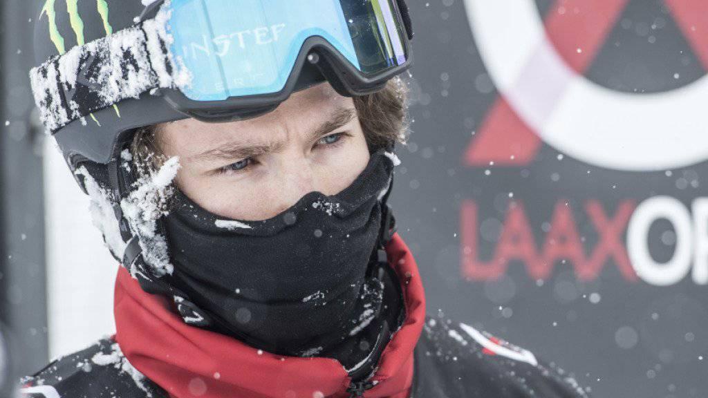 Erwischte in Laax einen schlechten Tag und verpasste den Halfpipe-Final: Olympiasieger Iouri Podladtchikov