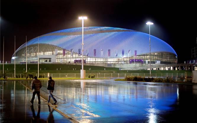 Der Olympia-Park ist eine Mischung aus Las Vegas und Disneyland.