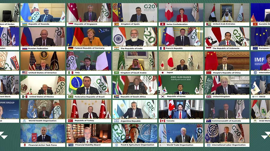 G20-Gipfel: Xi will Kooperation bei Impfstoffen ausbauen