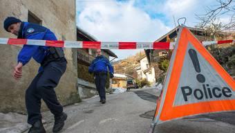 In der idyllischen Walliser Gemeinde Daillon richtete ein Dorfbewohner ein Blutbad an.