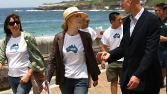 Sänger, Umweltaktivist und Politiker: Den Australier Peter Garrett zieht es mit seiner Rockband Midnight Oil wieder auf die Bühne.