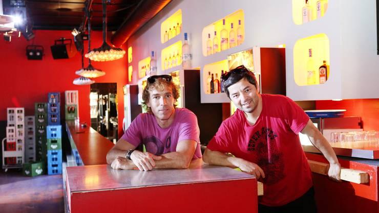 Markus Moerler und Olcay Oruç Sahin 2014, als das Eleven kurz vor der Schliessung stand. (Archiv)