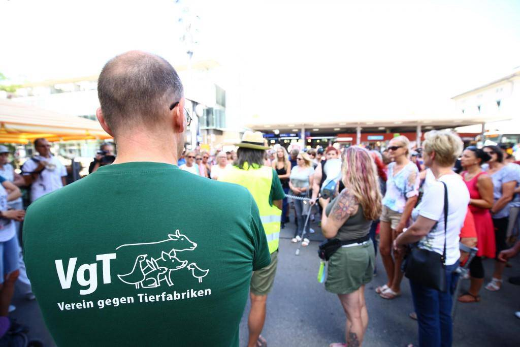 Demonstration in Frauenfeld (© FM1Today/Raphael Rohner)