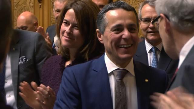 Kaum begonnen, schon vorbei: Ignazio Cassis ist neuer Bundesrat!