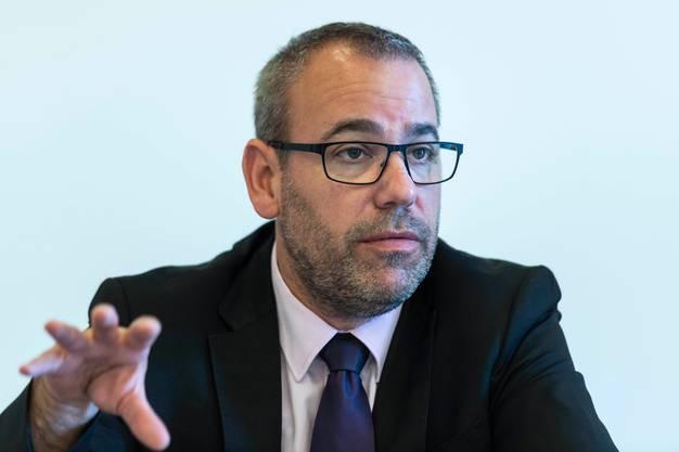 Fabien Gasser, FDP.