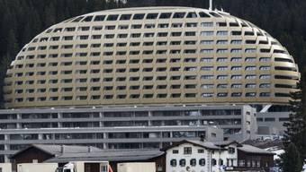 Das Hotel Intercontinental in Davos (Archiv)