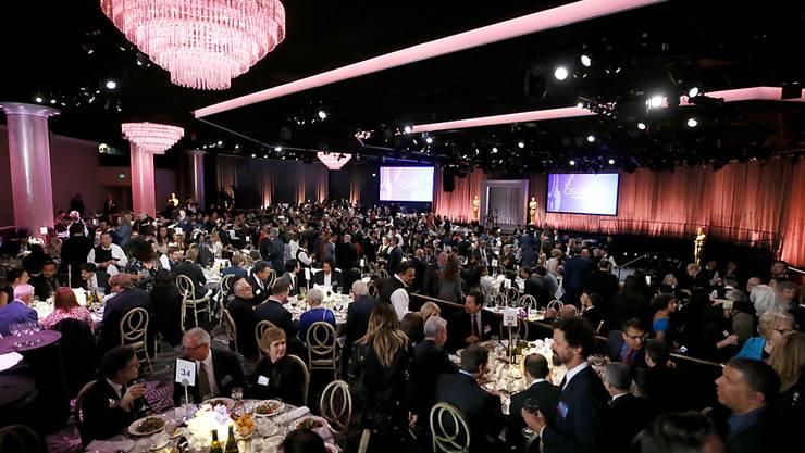Vorfreude auf die Oscar-Verleihung: Die Nominierten wurden am Montag traditionsgemäss zu einem Essen eingeladen.