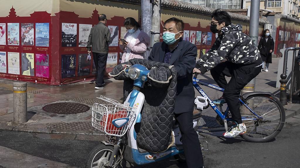 China meldet 55 neue Coronavirus-Infektionen und 5 neue Todesfälle
