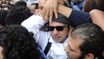 Der Aktivist Ahmed Maher wurde heute verurteilt (Archivbild).