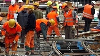 Eine Zumutung für die Bauarbeiter (Symbolbild)