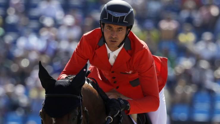 Steve Guerdat zählt mit seinen Teamkollegen zu den Medaillenanwärtern im Nationen-Wettkampf in Rio de Janeiro