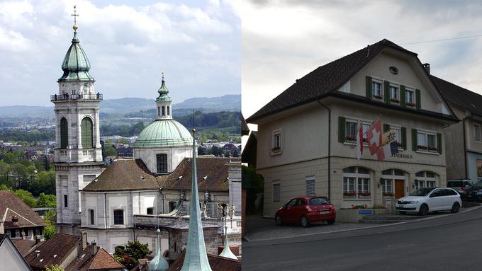 Solothurn ist im Kanton top, Mümliswil steht am Ende der Liste.